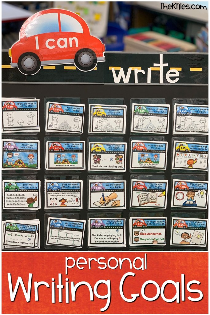 Looking for ways to motivate your writers to take ownership of their writing growth? Try using writing goals in your Writers workshop. The Road Map to Writing will help your students focus on the writing skills they need to improve as well as celebrating their accomplishments with a writing portfolio system that will motivate your students to write more! This writing bulletin board includes writing activities to foster independence using a paragraph writing model and visual supports.