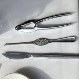 Implements for crab
