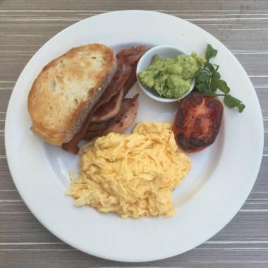 Bacon & Eggs with Avocado
