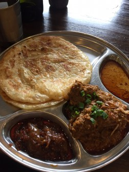 Beef Rendang with Roti