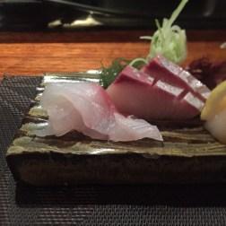 Kingfish and Snapper Sashimi