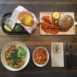 Salmon & Bear Dinner