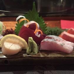 Tuna and Scallop Sashimi