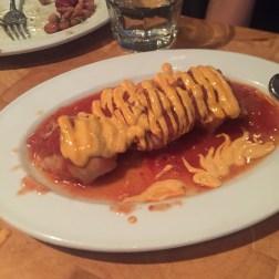 Braised Chicken, Tomato Salsa and Paprika Mayo