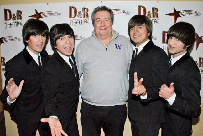 Greg Z_Yonich with Fab Four