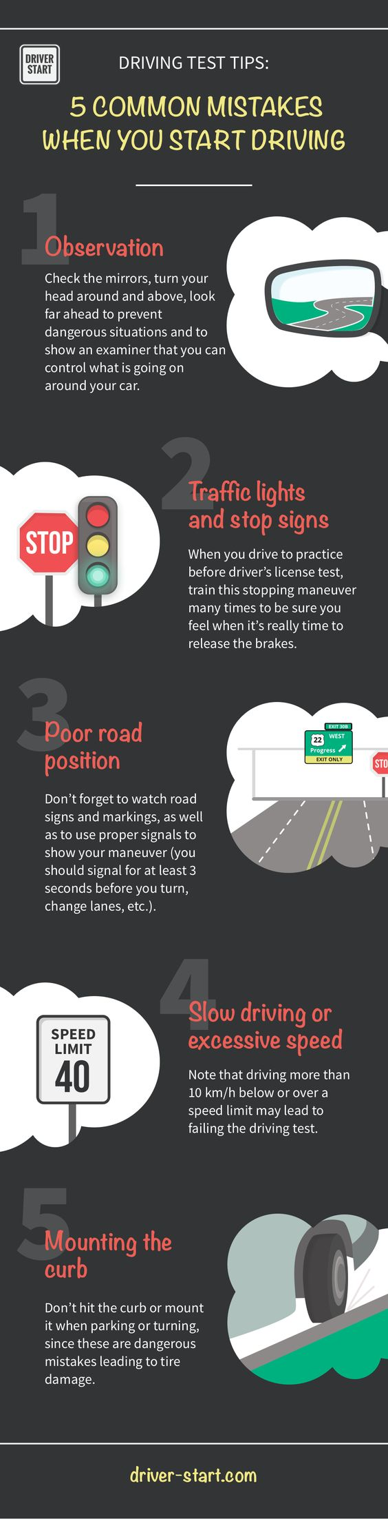 5 safe driving tips