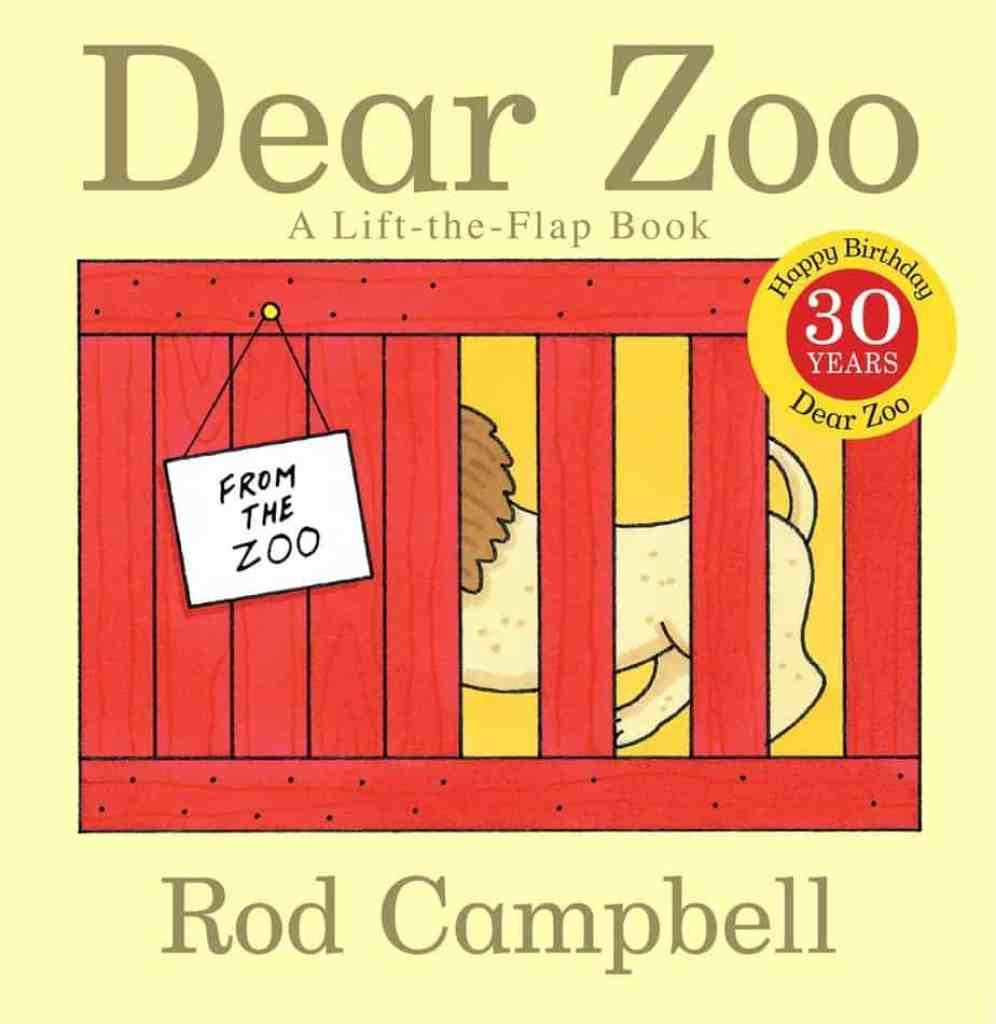 Dear Zoo Book - the best books for 1 year olds