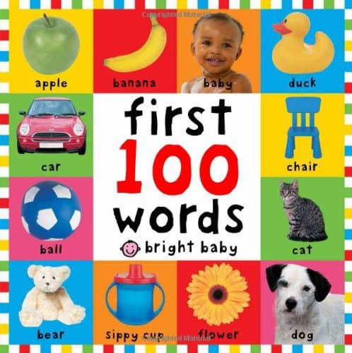 First 100 Words Book - the best books for 1 year olds