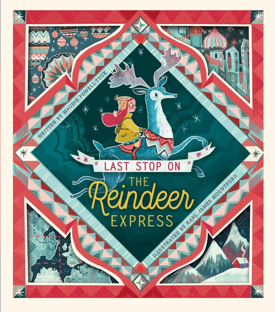 Last Stop on the Reindeer Express - one of the Best Christmas Picture Books