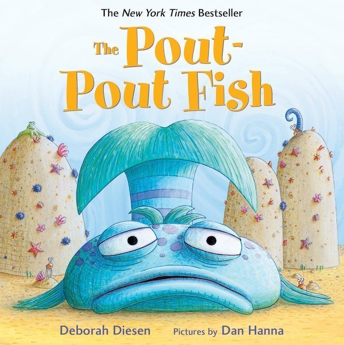 The Pout Pout Fish - the best books for 1 year olds