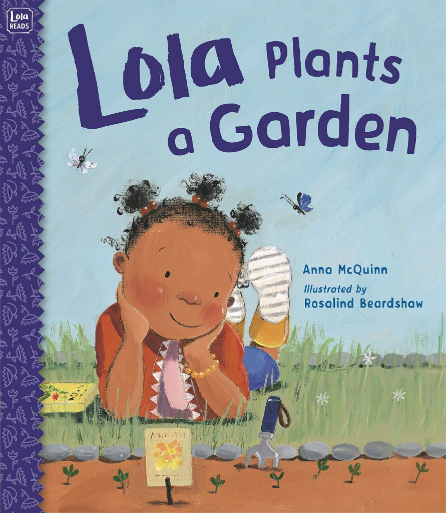 Lola Plants a Garden Book - nature books for preschoolers