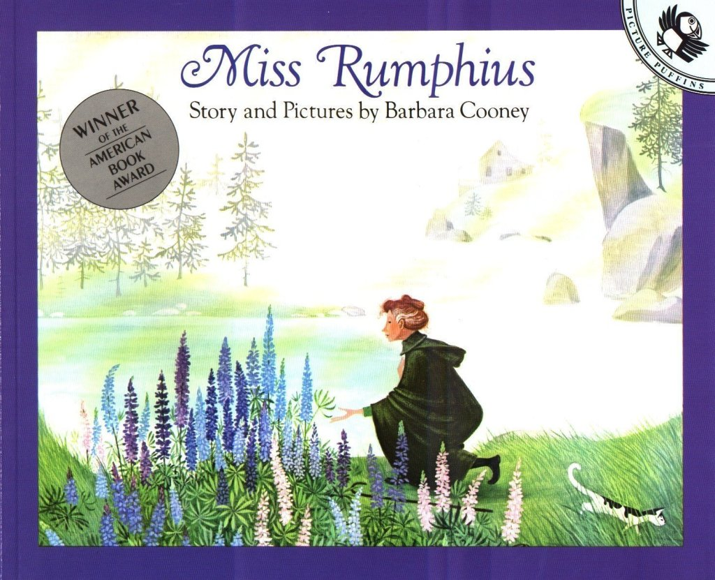 Miss Rumphius Book - Kids book about nature