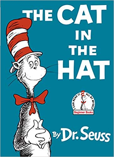 The Cat in the Hat - Featured on a book list of cat books for kids