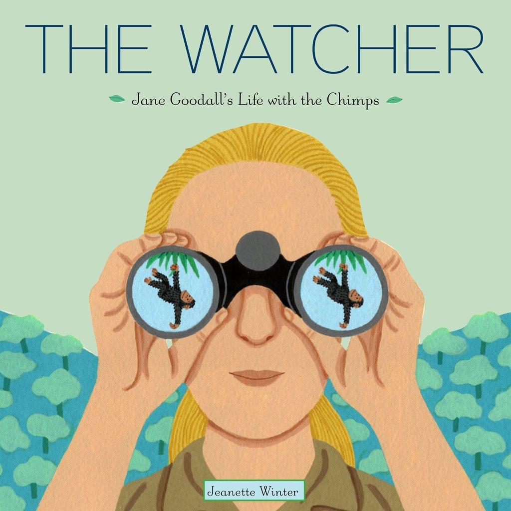 The Water: Jane Goodall's Life with the Chimps Book - nature books for preschoolers