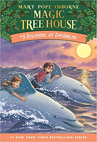 Dolphins at Daybreak (Magic Tree House, No. 9) - Children's Books about the Ocean