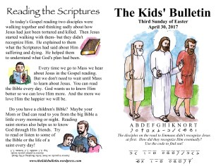 The Kids' Bulletin Easter 3