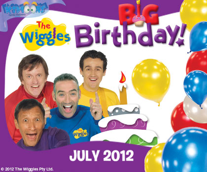 Free Kidtoons Tickets To See The Wiggles Big Birthday!