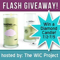 Diamond Candle Flash Giveaway! (US) Ends 7/5