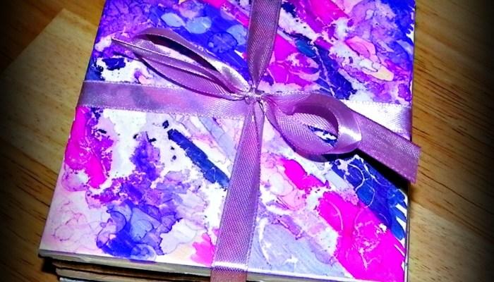 Sharpie Coasters Make Great Handmade Gifts!