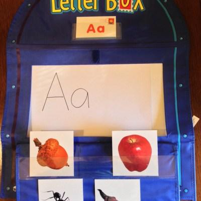 Letter Box Activity