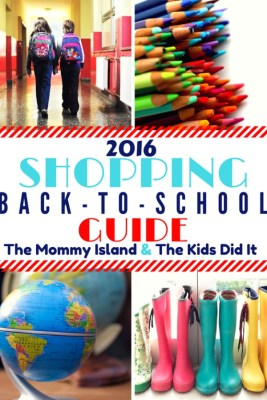 2016 Back To School Shopping Guide