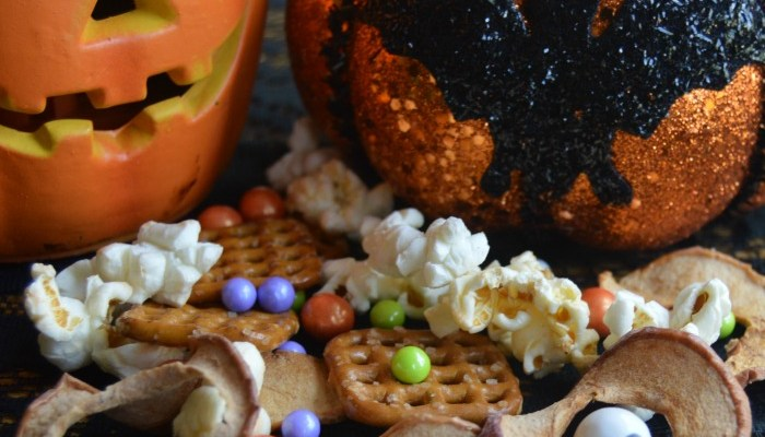 Monster Mix For An Easy Spooky Halloween Treat Featuring Celebration By Frey
