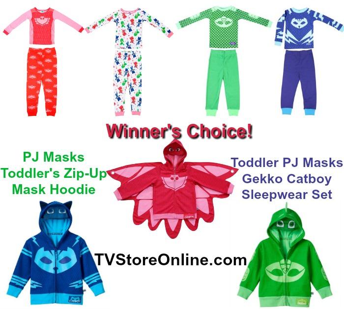 pj masks clothes