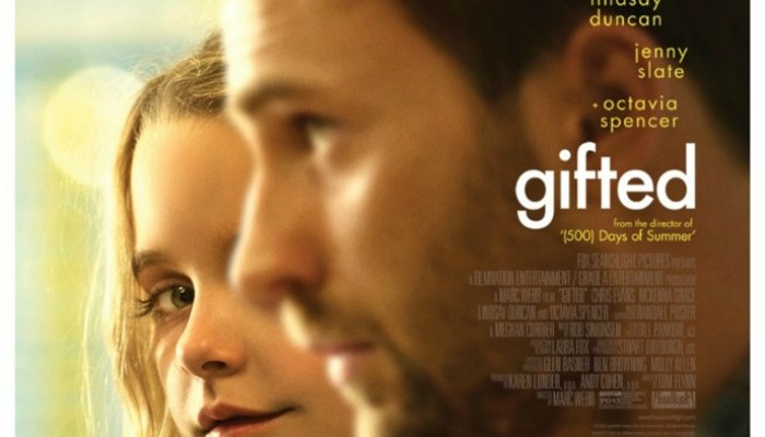 GIFTED Movie Starring Chris Evans + Giveaway