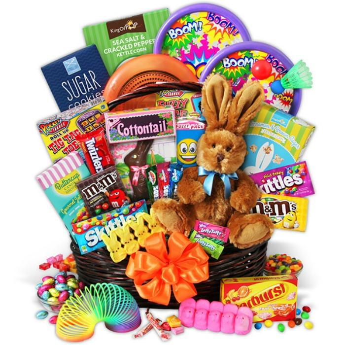 Easter Bunny Gift Basket