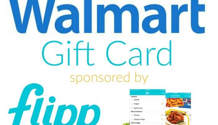 $100 Walmart Gift Card Giveaway