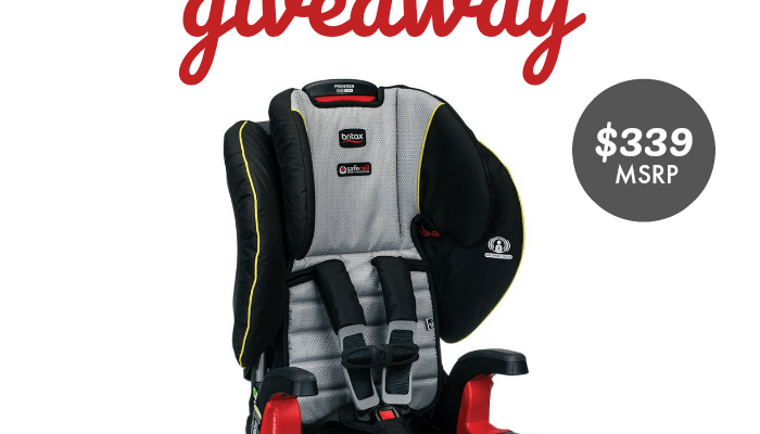Britax Frontier ClickTight Harness-2-Booster Car Seat Giveaway