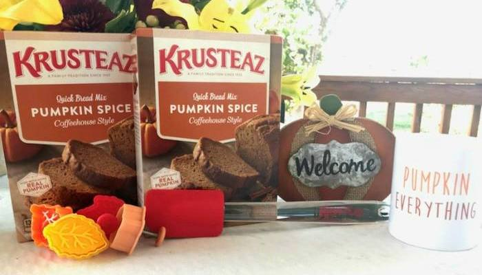 Krusteaz Pumpkin Prize Package Giveaway!