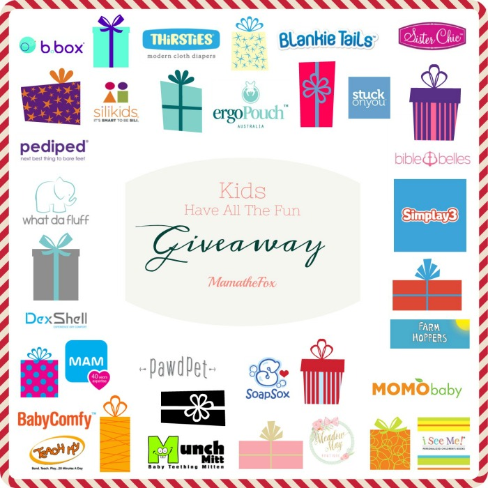 Win A 'Kids Have All the Fun' $870+ Prize Package!