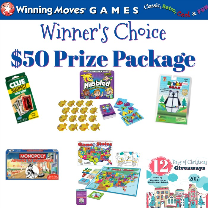 First Day Of Christmas Giveaways With Winning Moves Games! #12DaysOfGiveaways