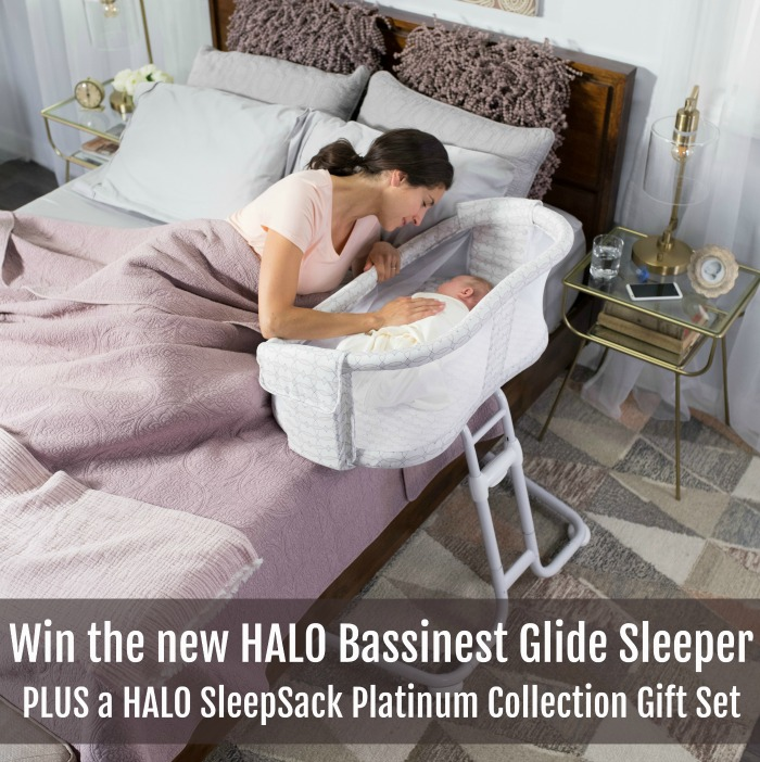 Safe and Close Sleep for Baby + HALO Giveaway