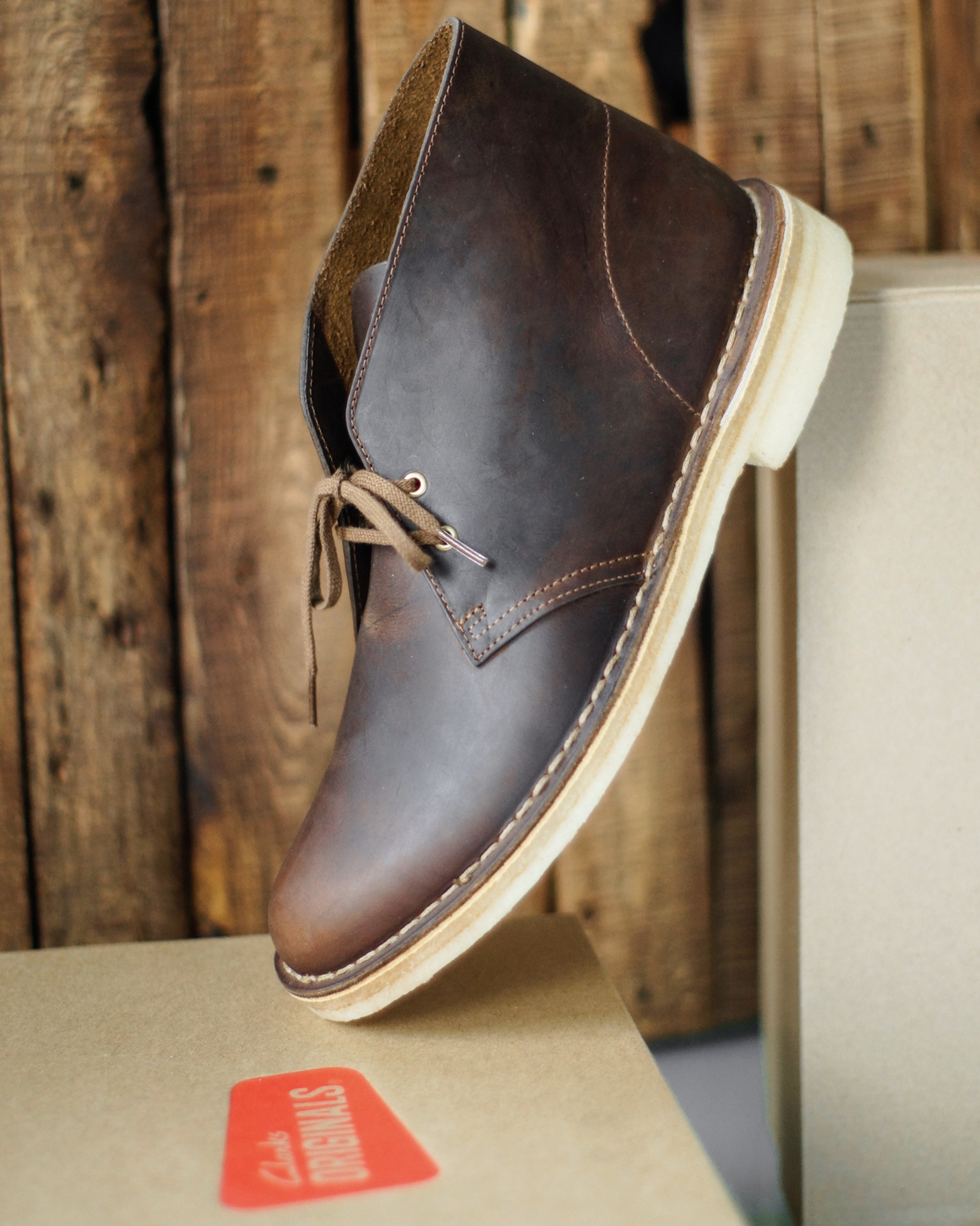 The Original Desert Boot by Clarks - Clarks Desert Boot from Clarks Originals Collection - Shoes - Beeswax & Leather - TheKillerLook.com - The Killer Look