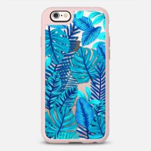 BLUE FLORAL JUNGLE : TRANS - Casetify - New Standard™ Phone Case - Casetify.com - TheKillerLook.com - The Killer Look