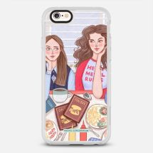 GILMORE GIRLS IN LUKES DINER - Casetify - New Standard™ Phone Case - Casetify.com - TheKillerLook.com - The Killer Look