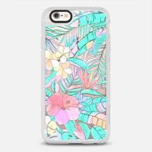 PASTEL ISLAND HIBISCUS ON - Casetify - New Standard™ Phone Case - Casetify.com - TheKillerLook.com - The Killer Look