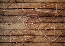 DIY Air Plants and Geometric Copper Umbra Prisma Decorative Accents - Copper Prism Art - Do It Yourself - Design It Yourself - Amazon - Air Plant - TheKillerLook.com - The Killer Look