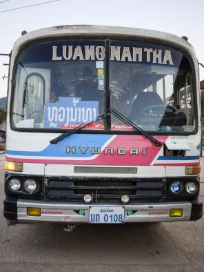 My rickety ride to Luang Namtha