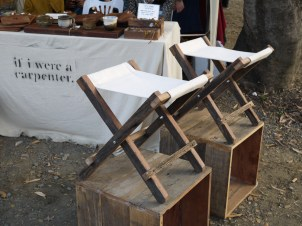 If I Were A Carpenter stool at Pop Market, CMDW14