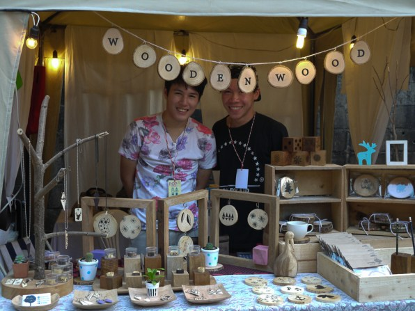 Wooden Wood at Pop Market, CMDW14