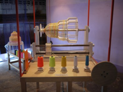 Low-tech lamp making machine by Thinkk Studio (Thailand) at CMDW14