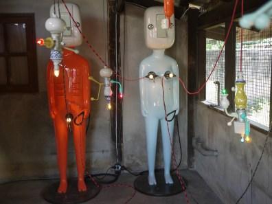 Send Mom to the Moon sculpture by Torlarp Larpjaroensook at CMDW14