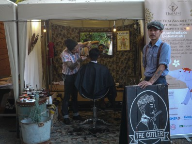 The Cutler barber at Pop Market, CMDW14