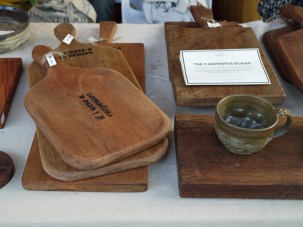 If I Were A Carpenter wood cutting boards at Pop Market, CMDW14