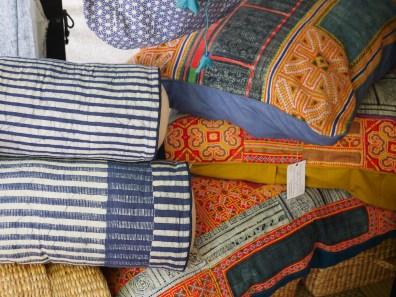 Hill Tribe Indigo Batik at NAP Fair Chiang Mai