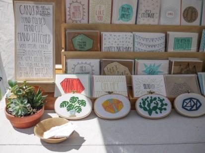 Sarah K. Benning at Renegade Craft Fair, Brooklyn 2015