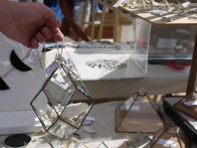 ABJ Glassworks at Renegade Craft Fair, Brooklyn 2015
